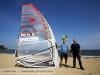 NP sail designer Robert Stroj visits Jinha Beach