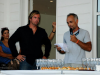 Antoine Questel and the organizer Arnaud Daniel ©Chrystéle Escure 2013, St.Barth Cup 2013