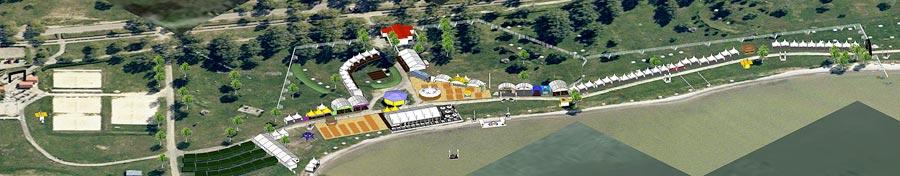 Event area 2013.
