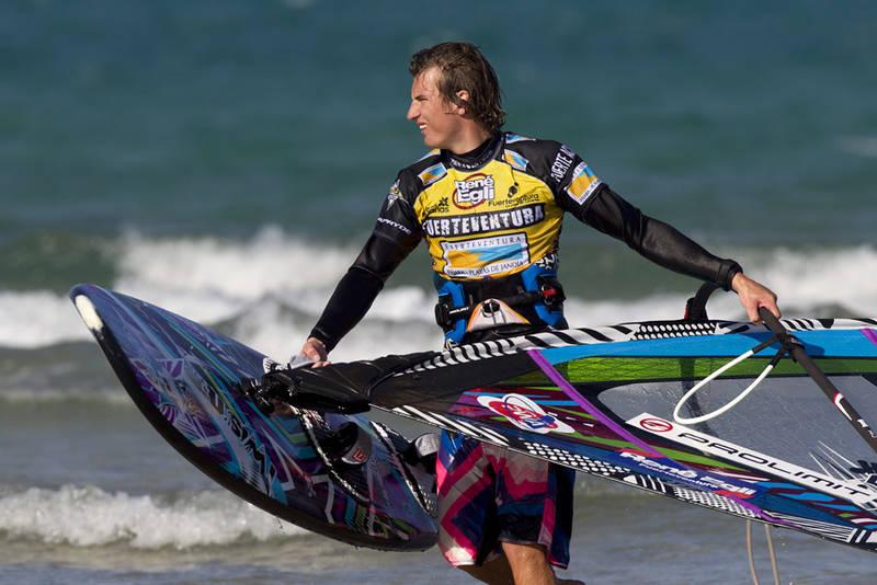 Davy on Fuerteventura in 2012 (Pic: PWA/Carter 2013).