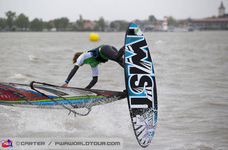 Davy with great style at Podersdorf (Pic: PWA/Carter 2013).