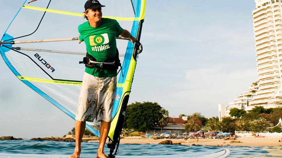 Svein Rasmussen in Pattaya, Thailand (Pic: continentseven)