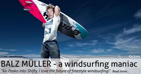 Balz Müller - a windsurfing maniac
