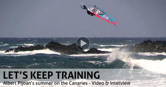 Albert Pijoan on Gran Canaria - Video