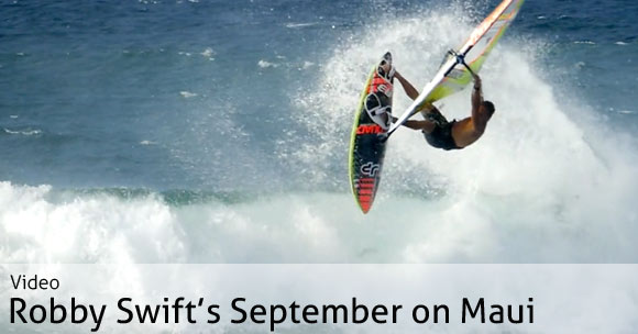 Robby Swift in Maui - Video