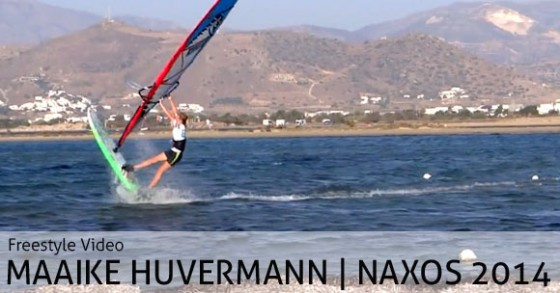 Maaike Huvermann in Naxos - Video