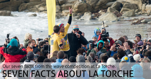 Seven Facts about the wave competition at La Torche 2014