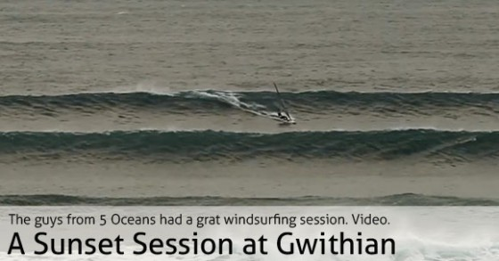 A Sunset Session at Gwithian