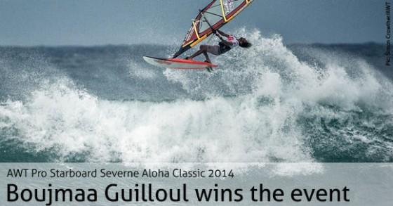 Boujmaa Guilloul wins the AWT Pro Aloha Classic 2014
