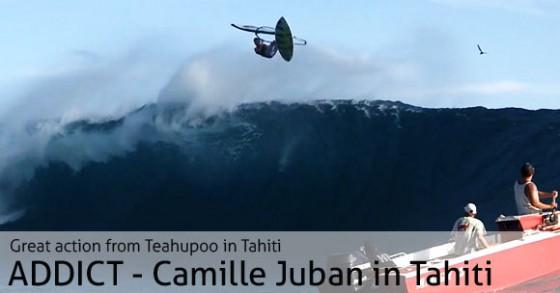 Addict - Camille Juban at Teahupoo