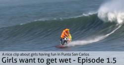 Girls Windsurfing