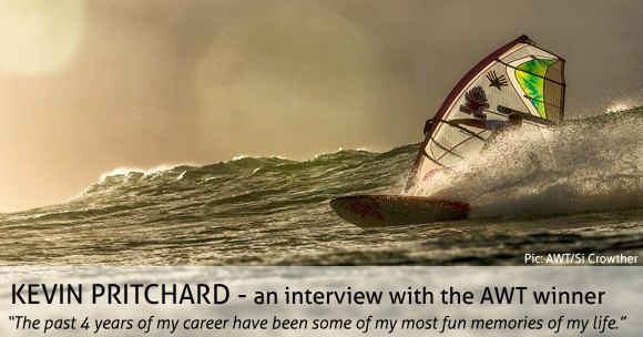 Kevin Pritchard about his AWT title & the 2014 Aloha Classic