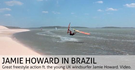 Jamie Howard in Brazil