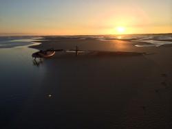 Earlybird sunrise at sea