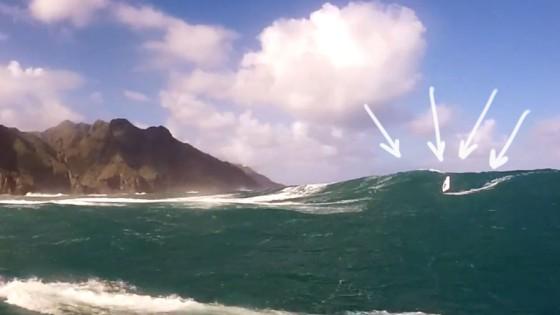 Big Wave Windsurfing at Las Manchas