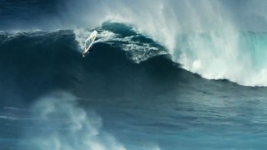 Windsurfing in Jaws Video