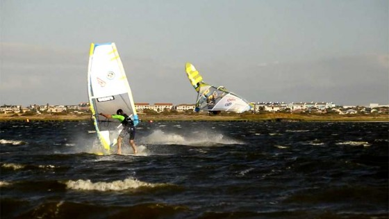 Bastien Rama and Adrien Bosson in South Africa