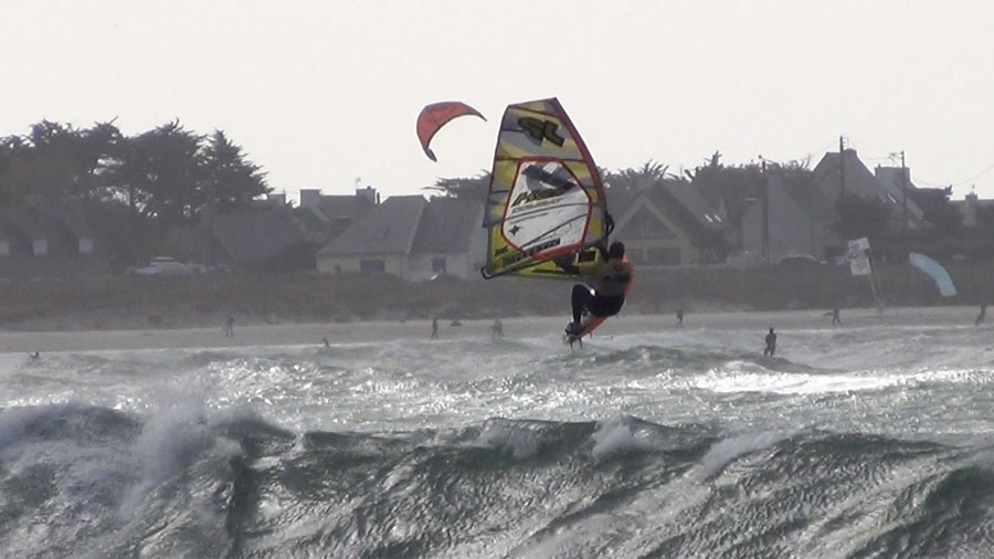 Windsurfing Jump by Robby Swift
