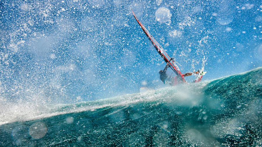Kevin Pritchard at Ho'okipa (Pic: Fish Bowl Diaries)