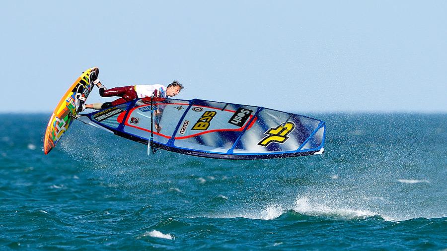 Steven van Broeckhoven with a Shifty at La Franqui (Pic:Bellande/Carter)