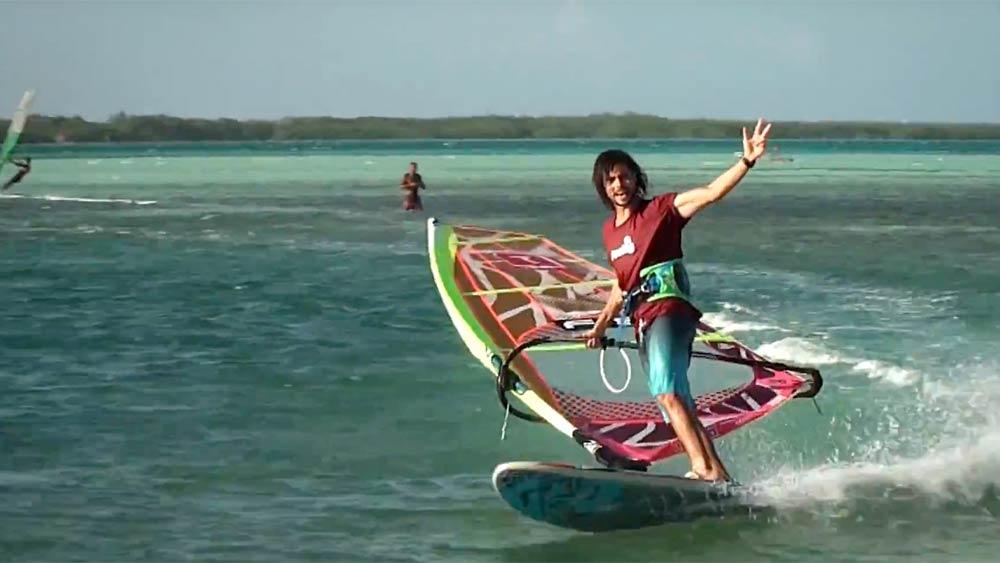 Antony Ruenes on Bonaire