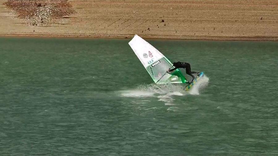Bastien Rama at Lake Monteynard