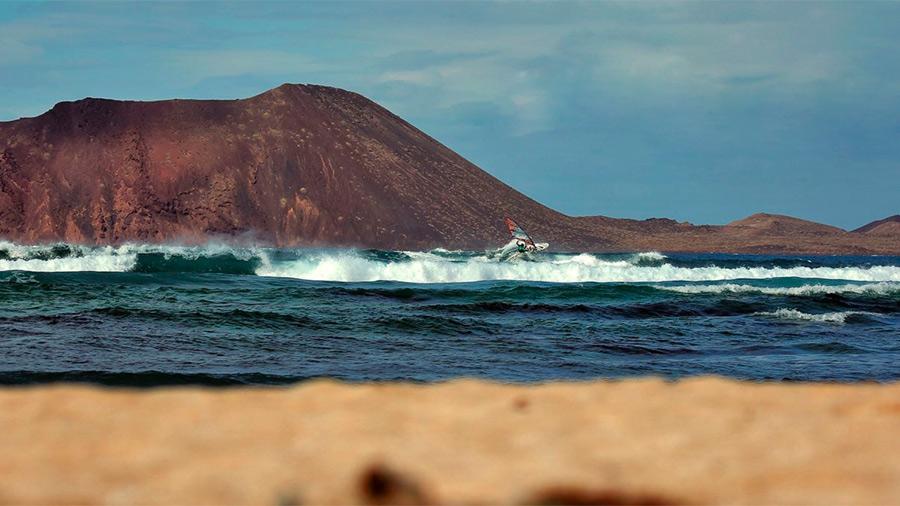 Alex Mussolini on Fuerteventura