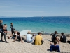 Day 1 - Waiting for wind at the Zlatni rat