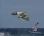 Dani Bruch going high - Pic: www.windsurfingtenerife.com