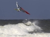 Dany Bruch onefooted on a Backloop  (Pic: John Carter/ PWAworldtour 2010).