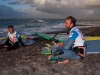 Kauli Seadi and Ricardo Campello after their final - © Pic: Cold Hawaii World Cup