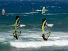 Craig Gertenbach and Klaas Voget testing Fanatic and using the new 4 batten Simmer sail