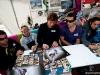 Fanatic team autograph session