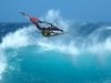 Camille Juban with good aerial time (© Calvet / Reunionwaveclassic.com)