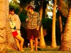 Chilling with friends (© Calvet/ Reunionwaveclassic.com)