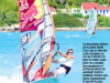 Windsurfing in the local news ©Chrystéle Escure 2013, St.Barth Cup 2013