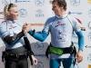 Andre Paskowski congratulates Steven - Pic: Jonas Roosens