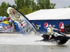Taty Frans being towed by a jetski - Pic: PWA/John Carter