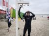 The Slovenian freestyler Andraz Zan takes a shower - Pic: Jonas Roosens