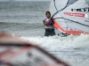 Dan Ellis coming back to the beach after a race - Pic: Jonas Roosens