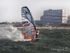 Ellis kicks up some spray - Pic: Jonas Roosens