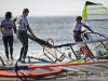 Bad luck for Tine Slabe breaking the mast in the last race - Pic: Jonas Roosens