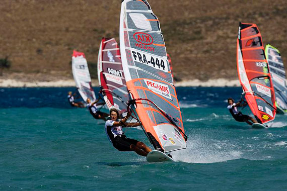 Valerie Ghibaudi dominating  - Pic: PWA/John Carter