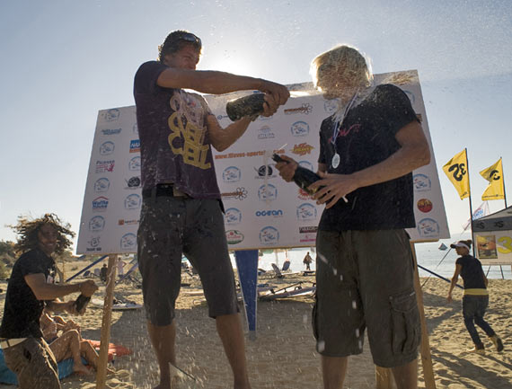 Steven wins as well the last EFPT event 2009 in Naxos - Pic: Jonas Roosen