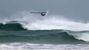 Andrew Fawcett nails Aerials in waves