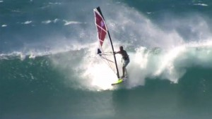 Keith Teboul in waves