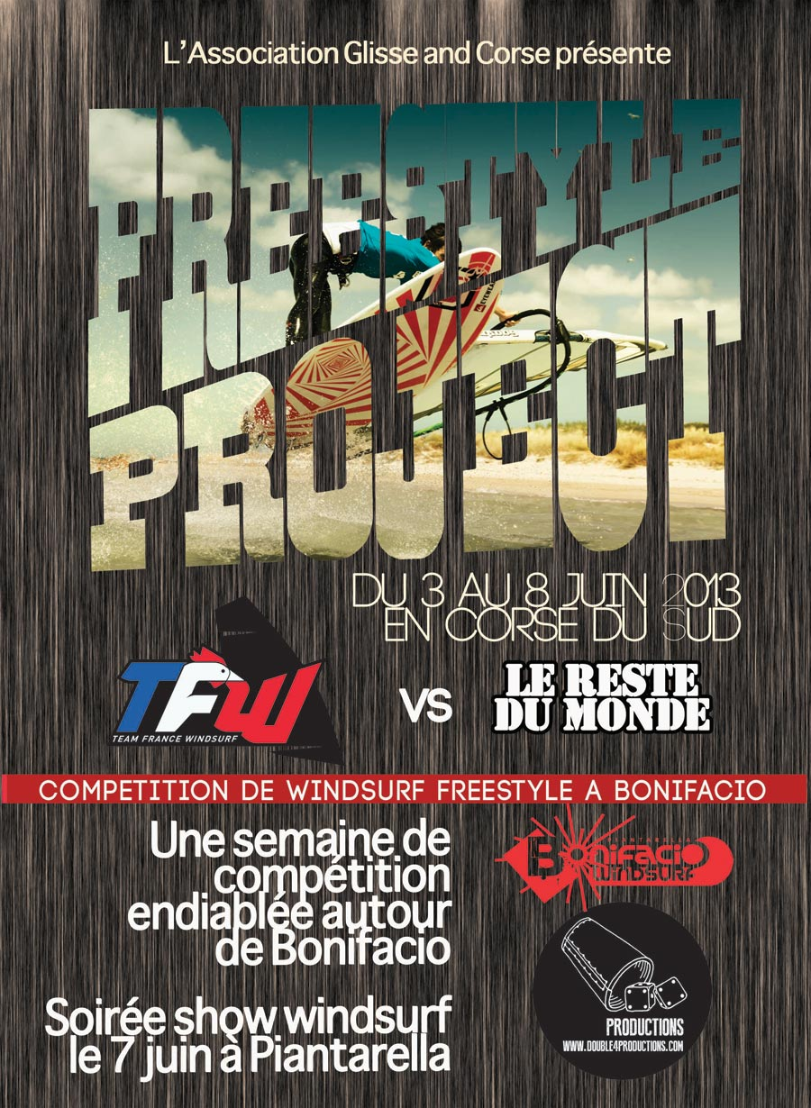 The event poster for the Freestyle Project 2013.