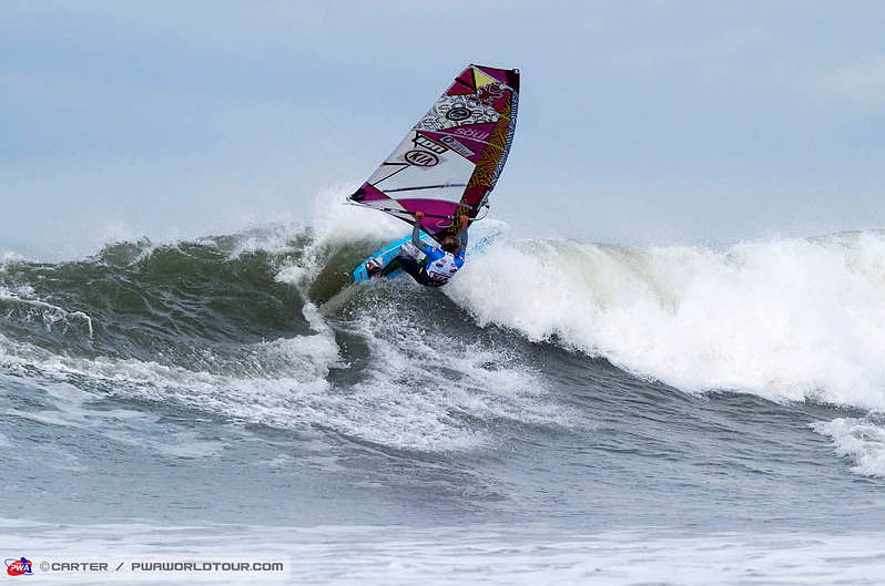 Moritz Mauch likes to surf with the Soul and the NuEvo