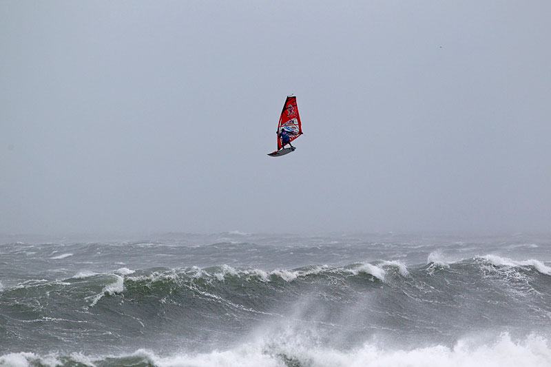 The Red Bull Storm Chase final is on the to do list of Dany for 2013 (Pic: John Carter)