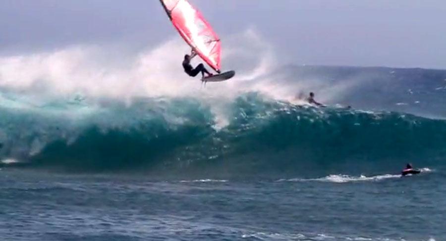 Crazy Aerial action at El Confital